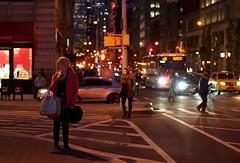 At a Standstill (beanhead4529) Tags: newyorkcity nyc manhattan streetphotography unionsquare microfourthirds olympusem5 olympus45mm night bokeh city urban gothamist