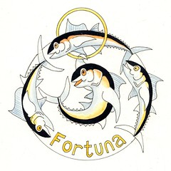 Fortuna (Dru Marland) Tags: wheel illustration cartoon fortune fortuna fourtuna