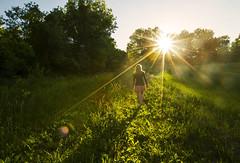 Refreshed (Matt Champlin) Tags: life summer woman green nature canon walking outdoors random hiking walk fresh wife sunburst stace sundress pristine sunstar 2016