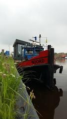 Floating House #2 (anastigmatz) Tags: floating house houseboat woonark tugboat noord eemskanaal canal groningen outdoor