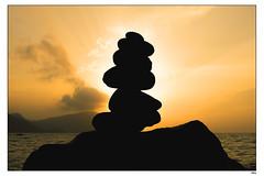 Mi Africana (1mrz) Tags: mar amanecer cielo contraste silueta almera maydarodriguez