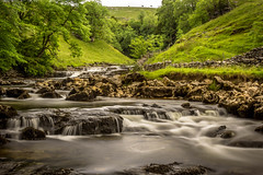 Raven Ray (Ian Emerson) Tags: park trees tree water beauty river landscape waterfall rocks long exposure natural yorkshire scenic hills serene cascade silky hoya ndx400