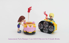 Set 41133 Amusement Park Bumper Cars (Bricksky) Tags: park friends sky cars amusement lego bricks tyler bumper 41133 bricksky