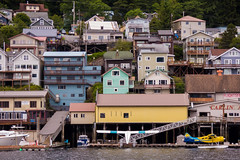 Ketchikan, Alaska (Lee Edwin Coursey) Tags: 2016 alaska ketchikan uncruise unitedstates adventure buildings cruise landscape nature town travel