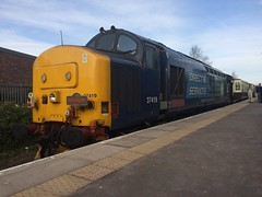 37419 Ormskirk (daveymills31294) Tags: white rose train tea class kipper 37 tours links pathfinder lancs sabrinas ormskirk drs 374