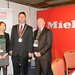 Showtel Sharon Blackburn & Aidan Carey,  Miele Ireland and Stephen McNally, IHF President