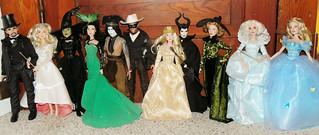 Disney Film Collection Dolls