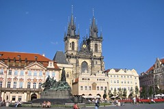 Prague 2003 (Brian Aslak) Tags: 2003 europe prague praha czechrepublic czechia starmsto eskrepublika staromstsknmst tnskchrm churchofourladybeforetn tjekkia kostelmatkybopedtnem tehhi