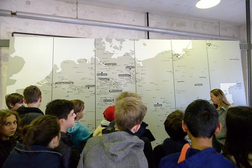 集中營分布圖