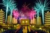 帶阿楞去佛光山看煙火^^ (Eson Huang) Tags: nikon fireworks taiwan kaohsiung 煙火 燈會 2015 24120mm 佛光山 四葉妹妹 紙箱人 阿楞 d5100 佛陀紀念館