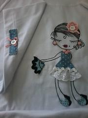 """20150309_103508 (""""ARTEIRICES"""" By R IANGUAS) Tags: tshirts patchwork bonequinhas panos bonequinha apliqu"""