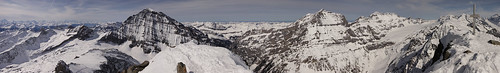 Panoramic view from the Hockenhorn