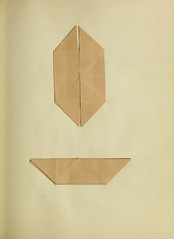 The Work of Tommy Stringer, origami exercise (Perkins School for the Blind Archive) Tags: history boston education blind 19thcentury blindness deafblind friedrichfroebel manualarts squarehand froebelgifts