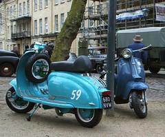1959 LAMBRETTA - 1965 LAMBRETTA (shagracer) Tags: lambretta 680nvw abw163c italian motor scooter vehicle queen square bristol classic car meet adc breakfast club avenue drivers