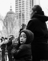 Bloody Sunday 50th Anniversary (D A Baker) Tags: bloody sunday remembrance anniversary selma 1965 2015 march 7 7th fort ft wayne indiana d610 little boy mother allencounty courthouse freimann square civil rights daniel baker da