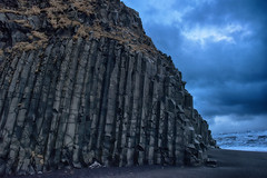 Reynisfjara beach (questforfire2010) Tags: iceland stones columns basalt rockformation reynisfjarabeach