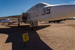 DTJ_7095r (crobart) Tags: arizona museum us force tucson space aircraft military air airplanes north pima american vigilante reconnaissance ra5c 19581980