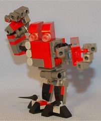 BC-12 Ettin (Mantis.King) Tags: lego scifi futuristic mecha mech moc microscale mechaton mfz mf0 mobileframezero blockchest