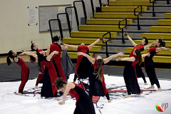 "Park View HS Red Winterguard <a style=""margin-left:10px; font-size:0.8em;"" href=""http://www.flickr.com/photos/126064516@N08/16812556406/"" target=""_blank"">@flickr</a>"