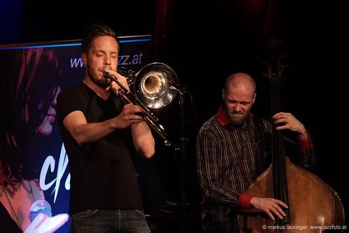 Bernhard Kastner: trombone / Harald Gudmundson: doublebass