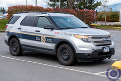 CBSA Slicktop Ford Explorer (West Coast Emergency Photography) Tags: canada ford bc britishcolumbia police victoria vancouverisland fordexplorer cyyj yyj emergencyvehicle borderguards cbsa victoriainternationalairport borderservices canadaborderservicesagency