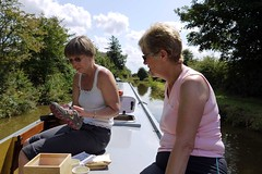 Narrowboat Aug'09 (kevanbutcher1) Tags: canal jane bob narrowboat