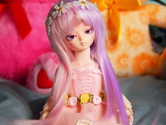Cupcake (PastellPandas) Tags: ball spring doll pastel kawaii bjd soom joint gem minette teenie faceup yosd pyrol