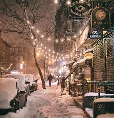 Streets - New York City  - Vivienne Gucwa 1 (Vivienne Gucwa) Tags: street nyc newyorkcity winter snow newyork night manhattan snowstorm urbanphotography newyorkatnight nycnight nycphoto nycwinter nycsnow citysnow newyorksnow cityphotography newyorkphoto newyorkcityphotography snowstormnewyorkcity viviennegucwa viviennegucwaphotography 2014nycsnow janus2014 janusmanhattan janussnow2014 nycjanus
