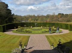 Rose Garden at Rode Hall (Eddie Crutchley) Tags: england gardens europe cheshire mansion rosegarden rodehall