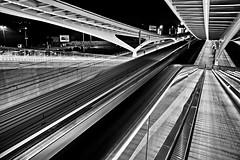 A Little bit confused !! (jo.misere) Tags: bw station speed train calatrava liege luik zw treinen guillemins 1247216