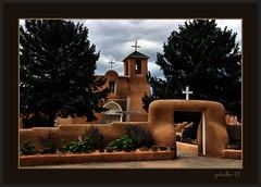 St Francis d Assisi - Ranchos de Taos New Mexico (the Gallopping Geezer 3.3 million + views....) Tags: old newmexico history church canon religious worship exterior famous faith religion historic adobe geezer okeefe 2007 corel ranchosdetaos stfrancisdeassisi west07928