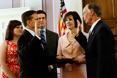 04-01-2015 Corrections Commissioner Jefferson Dunn sworn in
