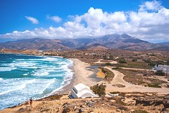 Amiti Beach (phunkstarr) Tags: beach greece paros galini amiti