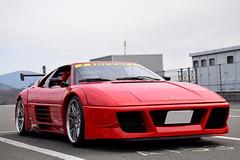 Ferrari 348 (Andre.32) Tags: italy cars car japan photography super ferrari exotic supercar supercars pininfarina 348 fsw sportcar fujispeedway 富士スピードウェイ alljapansupercarmeeting2nd