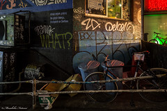 STREET (Masahiko Futami) Tags: street city reflection japan night canon graffiti tokyo shibuya         eos5dmarkiii citytraveler