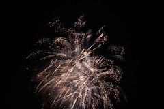 (justsamuraj) Tags: new light color night dark sylvester fireworks year explosion newyear celebration dsseldorf feuerwerk japantag