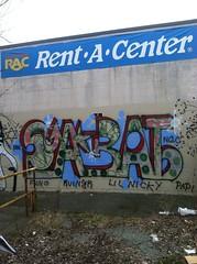 Sabat (laughing spinning dancing) Tags: graffiti ngc providence snarl mw sabat shelt bigdogsinc