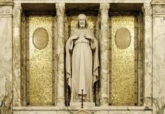 Lord of Love (Lawrence OP) Tags: sculpture statue jesus sacredheart emmitsburg mountstmarys