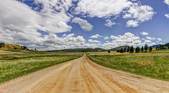 down the road in the Black Hills (Father Tony) Tags: southdakota blackhills canon landscape spring adobephotoshop sd hdr photomatix alienskin alienskinexposure canonefs1755mmf28isusm canon50d