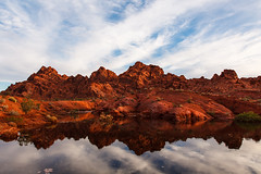 After The Flood (James Marvin Phelps) Tags: reflection valleyoffire photography flooding sandstone desert nevada ngc redrocks mojavedesert valleyoffirestatepark landscapephotography jamesmarvinphelpsphotography flashflood jamesmarvinphelps