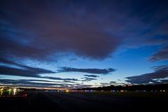KASH After Dark (FGGmedia) Tags: landscape lights airport airplanes nh runway nashua