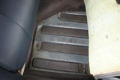 Floor panel detail (Pim Stouten) Tags: auto car restore vehicle jag restoration xjs jaguar macchina coup restauratie wagen pkw vhicule
