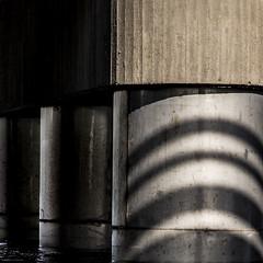 bridge (sami kuosmanen) Tags: kuusankoski kouvola suomi finland shape form muoto pylvs silta bridge valo light kymi joki river minimalistic abstract