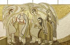 The Hospitality of Abraham (Lawrence OP) Tags: sarah mosaic father son abraham angels hospitality holytrinity nationalshrine holyspirit markorupnik stjohnpaulii
