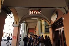 A bar in Bologna (]alice[) Tags: street city italy bar calle italia streetphotography ciudad bologna rue portici italie ville citt porticato