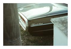 Thunderbird. (Drew Amyot) Tags: drewamyot 2016 svema125 nikonf4 thunderbird car vintagecars edmontonphotography canadianphotography