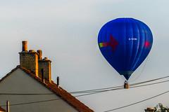 Delicate Landing (Stewart Black) Tags: rooftop wire balloon landing forcedperspective