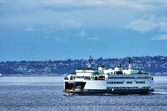 Seattle to Bremerton Ferry (Albert Jafar) Tags: seattle ferry publictransportation ngc bremerton washingtonstate wastateferries seattlebremertonferry photographerswharf