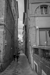 Siena Streets (Jeremy Brooks) Tags: people italy buildings it tuscany siena toscana camera:make=fujifilm camera:make=fuji camera:model=xpro1