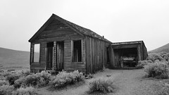 House with Cart (sidxms) Tags: not bodie ghost town goldrush abandoned statepark california samsung galaxy note 4 bnw bw monochrome blackandwhite
